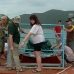 На морском испытательном стенде